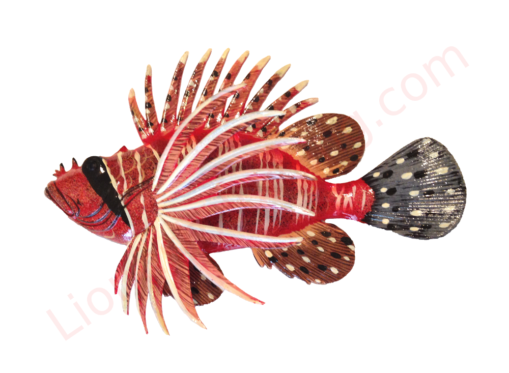 Lionfish Wall Mount